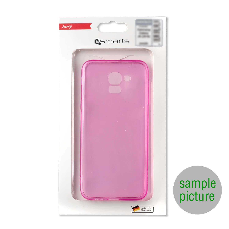 4smarts Soft Cover Invisible Slim — тънък силиконов кейс за Samsung Galaxy A10 (лилав) (bulk) - 2