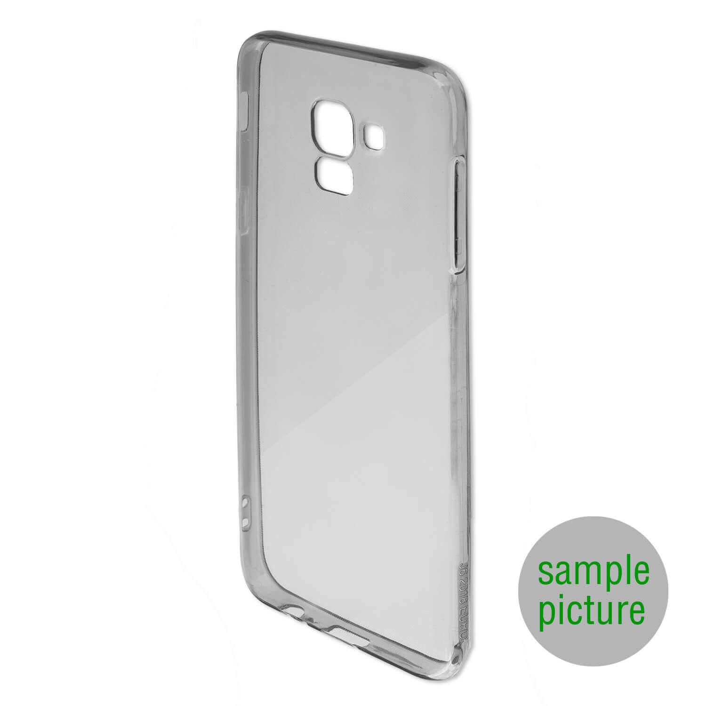 4smarts Soft Cover Invisible Slim — тънък силиконов кейс за Samsung Galaxy A30s (черен) (bulk) - 2