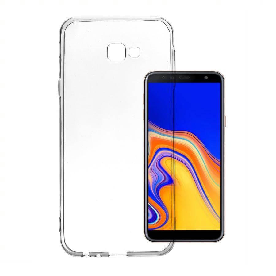 4smarts Soft Cover Invisible Slim — тънък силиконов кейс за Samsung Galaxy A30s (прозрачен) - 1