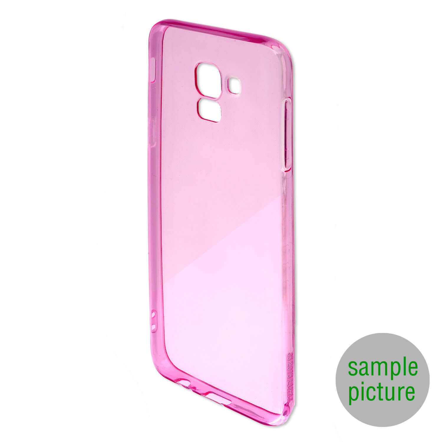 4smarts Soft Cover Invisible Slim — тънък силиконов кейс за Samsung Galaxy A50 (лилав) (bulk) - 2