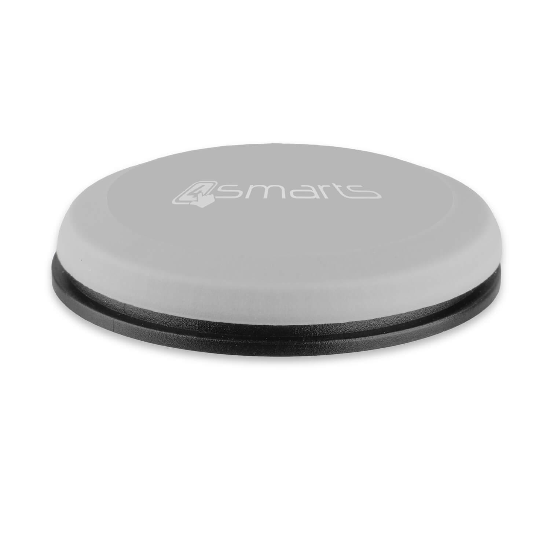 4smarts UltiMAG Allround Magnetic Holder — магнитна поставка за гладки повърхности за смартфони (сив) - 2
