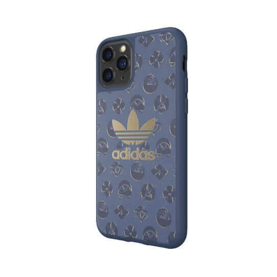 Adidas Originals Shibori Snap Case — удароустойчив хибриден кейс за iPhone 11 Pro (син) - 3