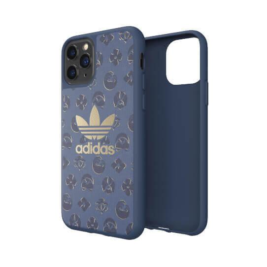 Adidas Originals Shibori Snap Case — удароустойчив хибриден кейс за iPhone 11 Pro (син) - 4