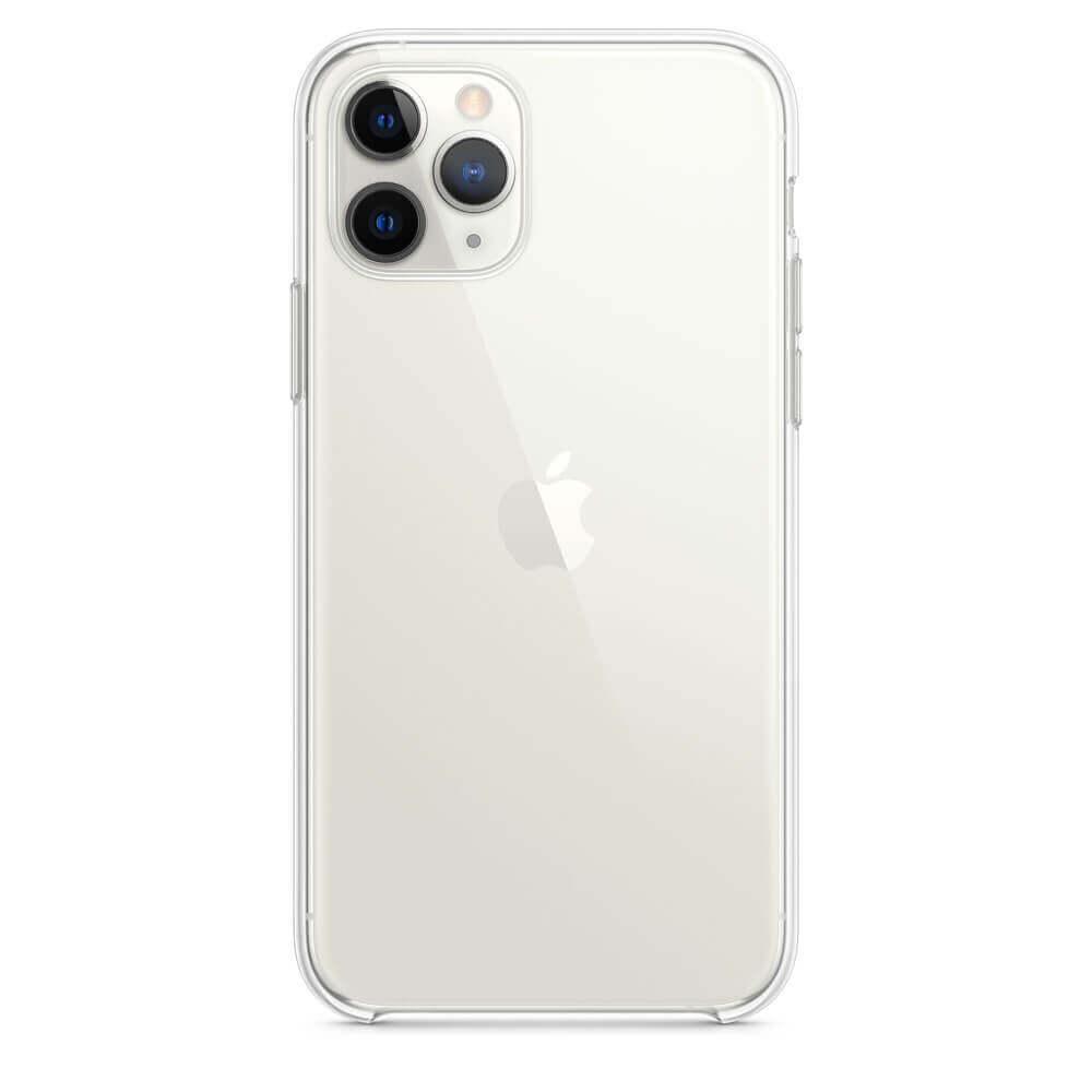 Apple Clear Case — оригинален кейс за iPhone 11 Pro (прозрачен) - 1
