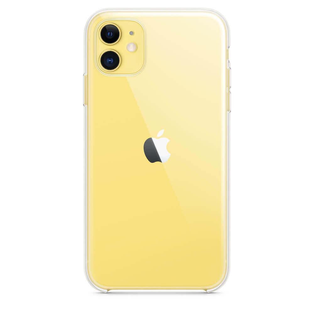 Apple Clear Case — оригинален кейс за iPhone 11 (прозрачен) - 5