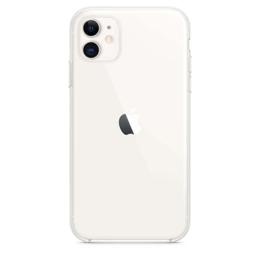 Apple Clear Case — оригинален кейс за iPhone 11 (прозрачен) - 1