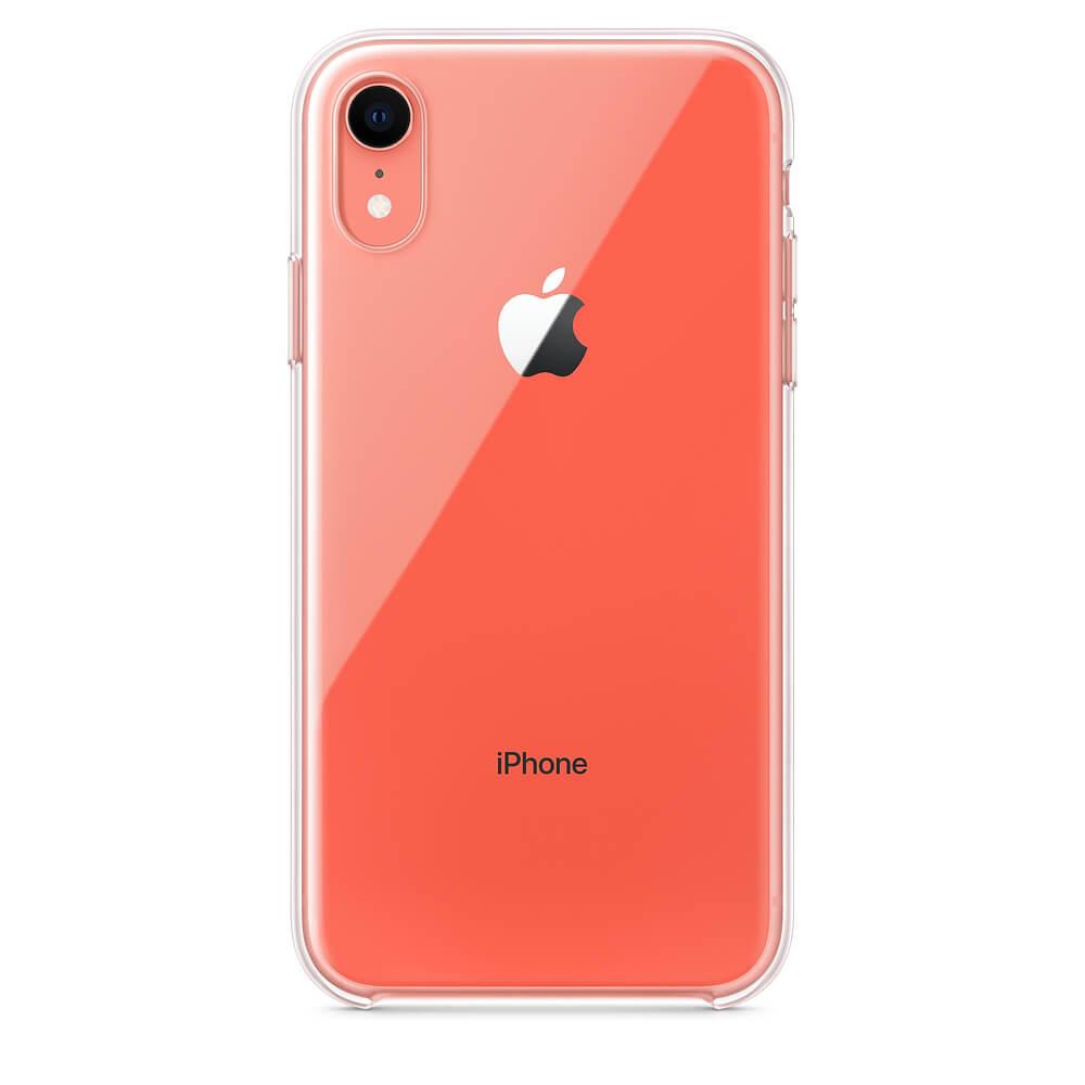Apple Clear Case — оригинален кейс за iPhone XR (прозрачен) (bulk) - 4