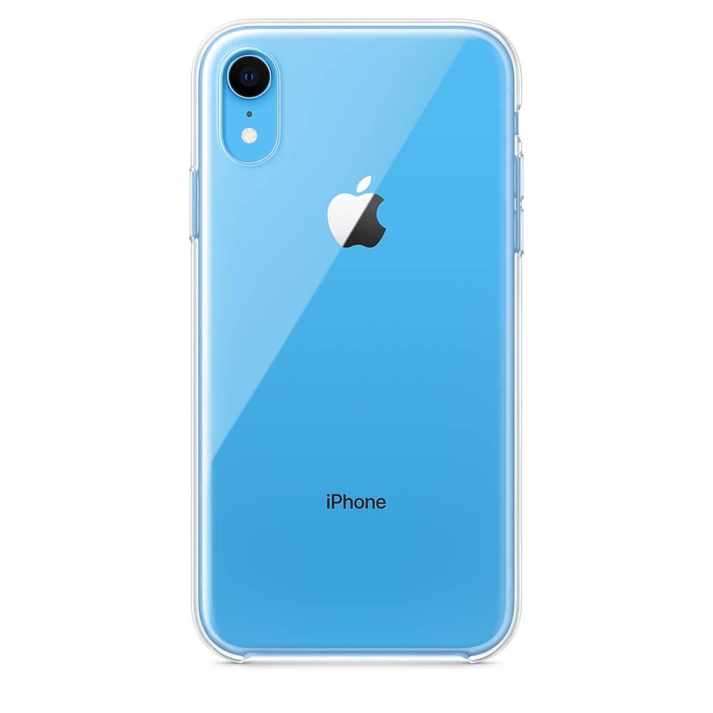 Apple Clear Case — оригинален кейс за iPhone XR (прозрачен) (bulk) - 3