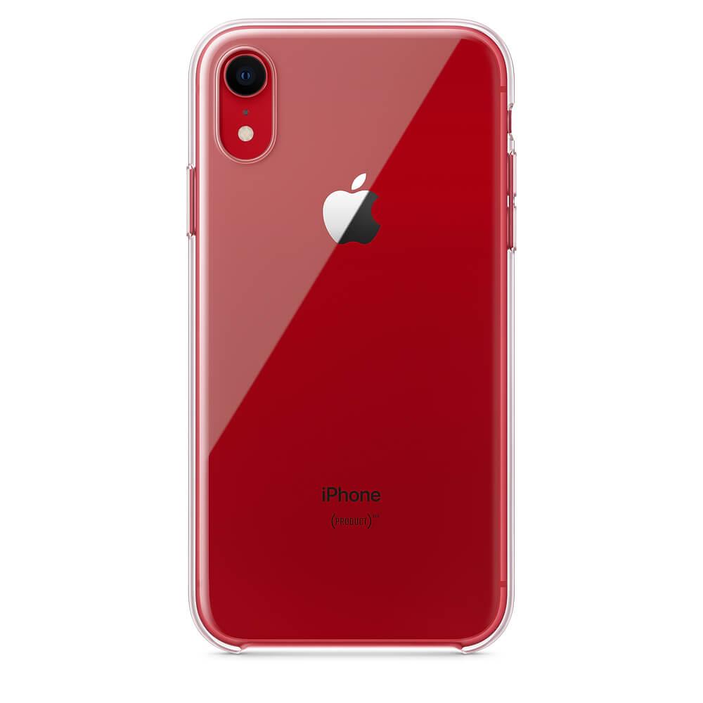 Apple Clear Case — оригинален кейс за iPhone XR (прозрачен) (bulk) - 5