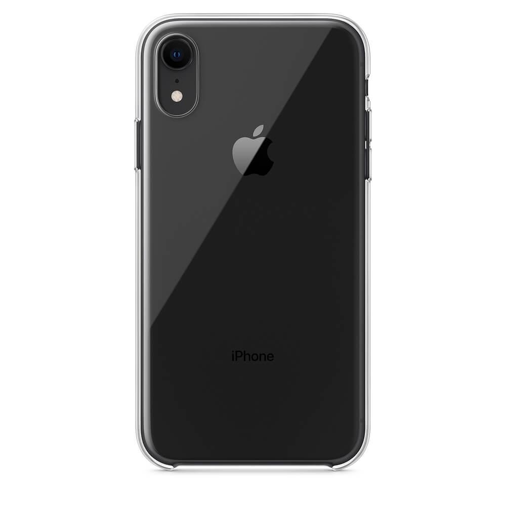 Apple Clear Case — оригинален кейс за iPhone XR (прозрачен) (bulk) - 2