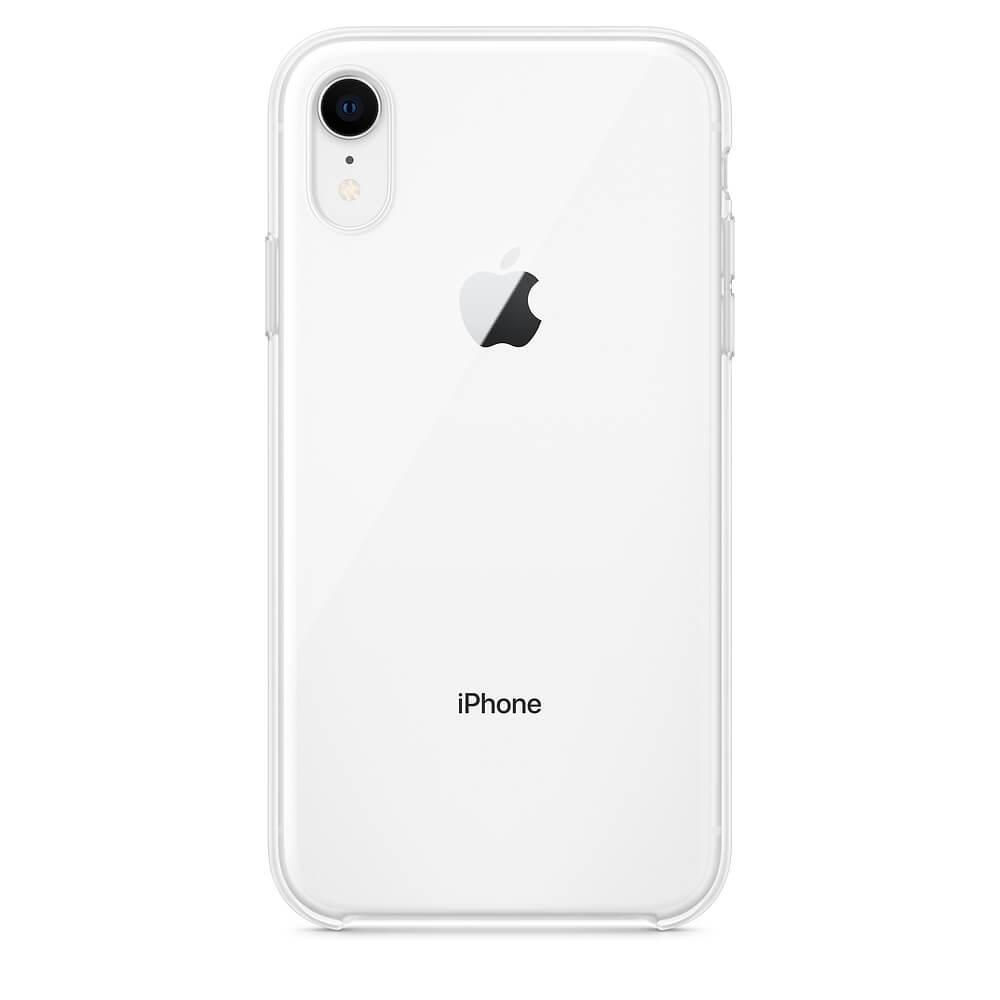 Apple Clear Case — оригинален кейс за iPhone XR (прозрачен) (bulk) - 1