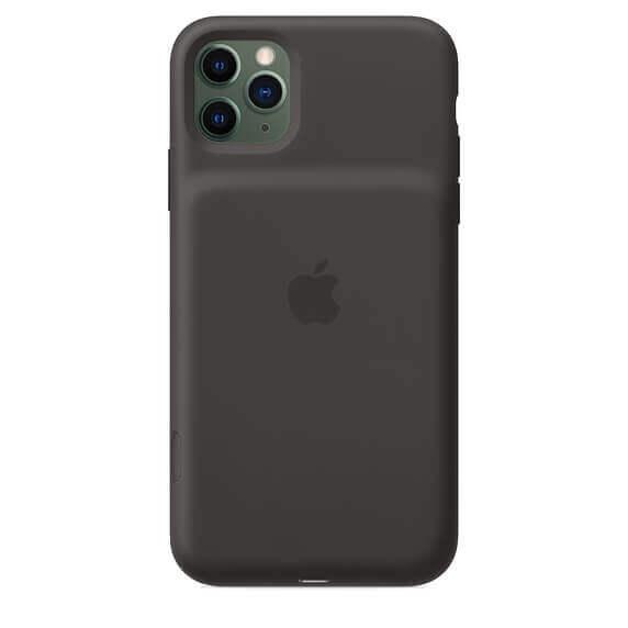 Apple Smart Battery Case — оригинален кейс с вградена батерия за iPhone 11 Pro (черен) - 5