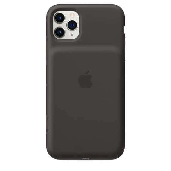 Apple Smart Battery Case — оригинален кейс с вградена батерия за iPhone 11 Pro Max (черен) - 4