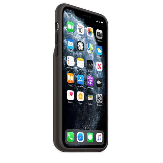 Apple Smart Battery Case — оригинален кейс с вградена батерия за iPhone 11 Pro Max (черен) - 2