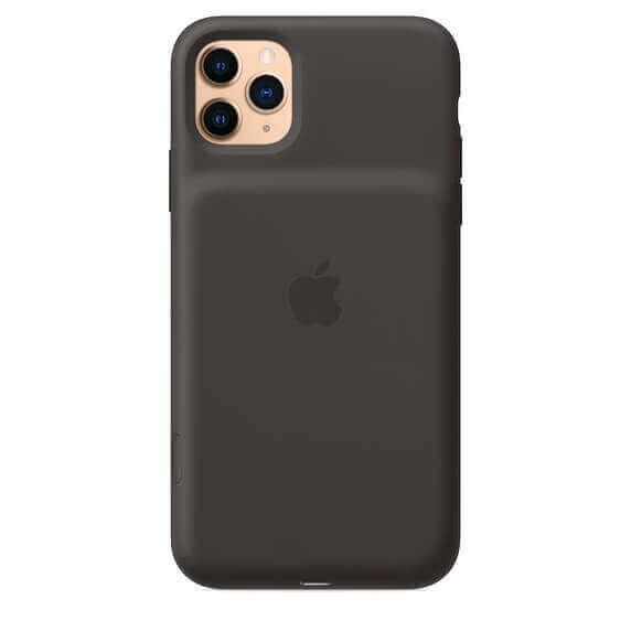 Apple Smart Battery Case — оригинален кейс с вградена батерия за iPhone 11 Pro Max (черен) - 3