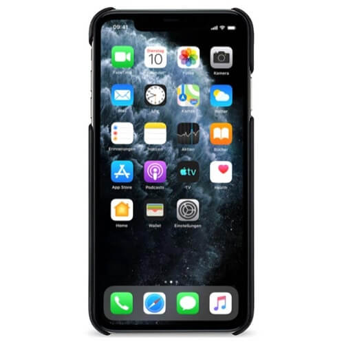 Artwizz Rubber Clip — матиран поликарбонатов кейс за iPhone 11 Pro (черен) - 2