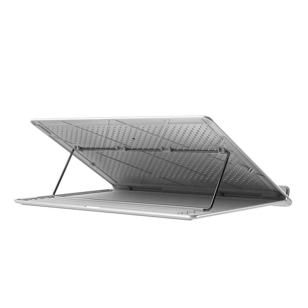 Baseus Foldable Laptop Stand — преносима сгъваема поставка за MacBook и лаптопи (бял) - 2