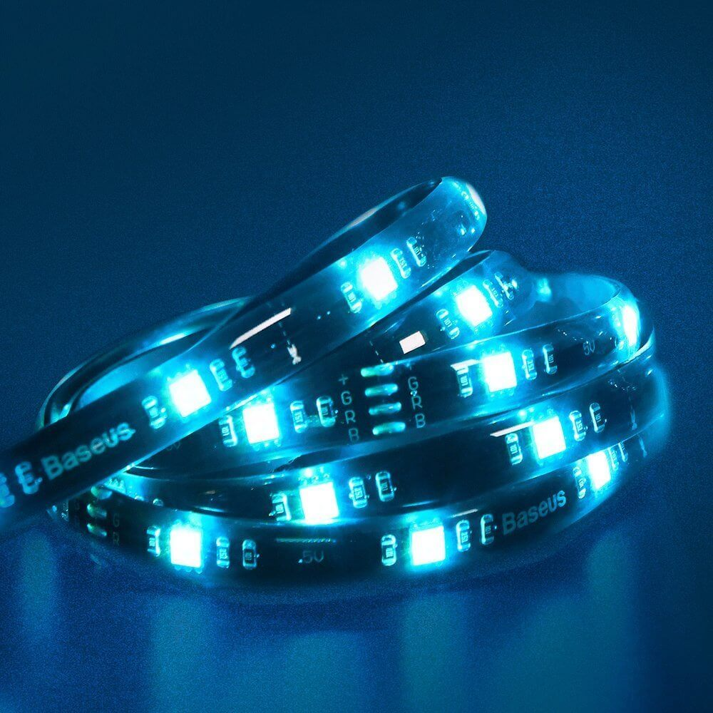 Baseus GAMO Colorful Self-Adhesive SMD LED Strip — RGB LED лента (150 см) - 3