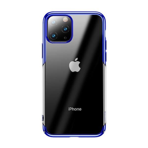 Baseus Glitter Case — поликарбонатов кейс за iPhone 11 Pro Max (син) - 1