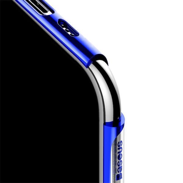 Baseus Glitter Case — поликарбонатов кейс за iPhone 11 Pro Max (син) - 3
