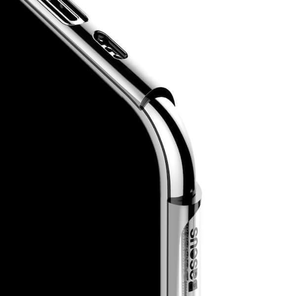 Baseus Glitter Case — поликарбонатов кейс за iPhone 11 Pro (сребрист) - 3
