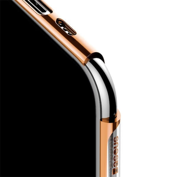Baseus Glitter Case — поликарбонатов кейс за iPhone 11 Pro (златист) - 3