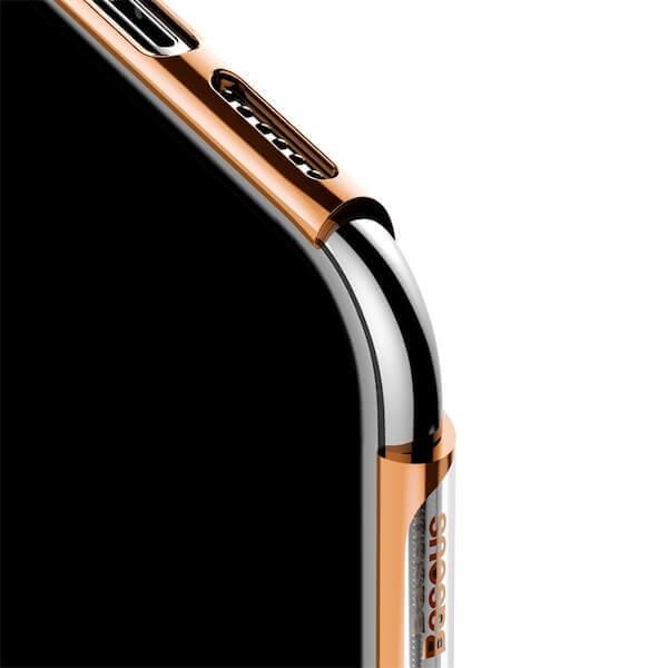 Baseus Glitter Case — поликарбонатов кейс за iPhone 11 (златист) - 3