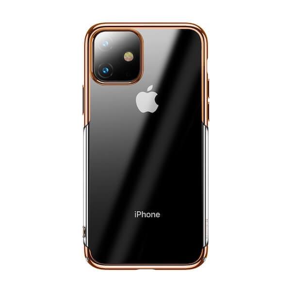 Baseus Glitter Case — поликарбонатов кейс за iPhone 11 (златист) - 1