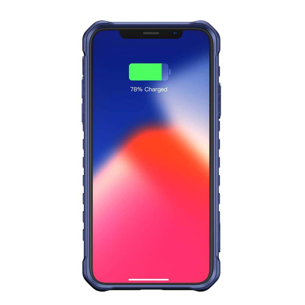 Baseus Michelin Case — удароустойчив хибриден кейс за iPhone XR (син) - 2