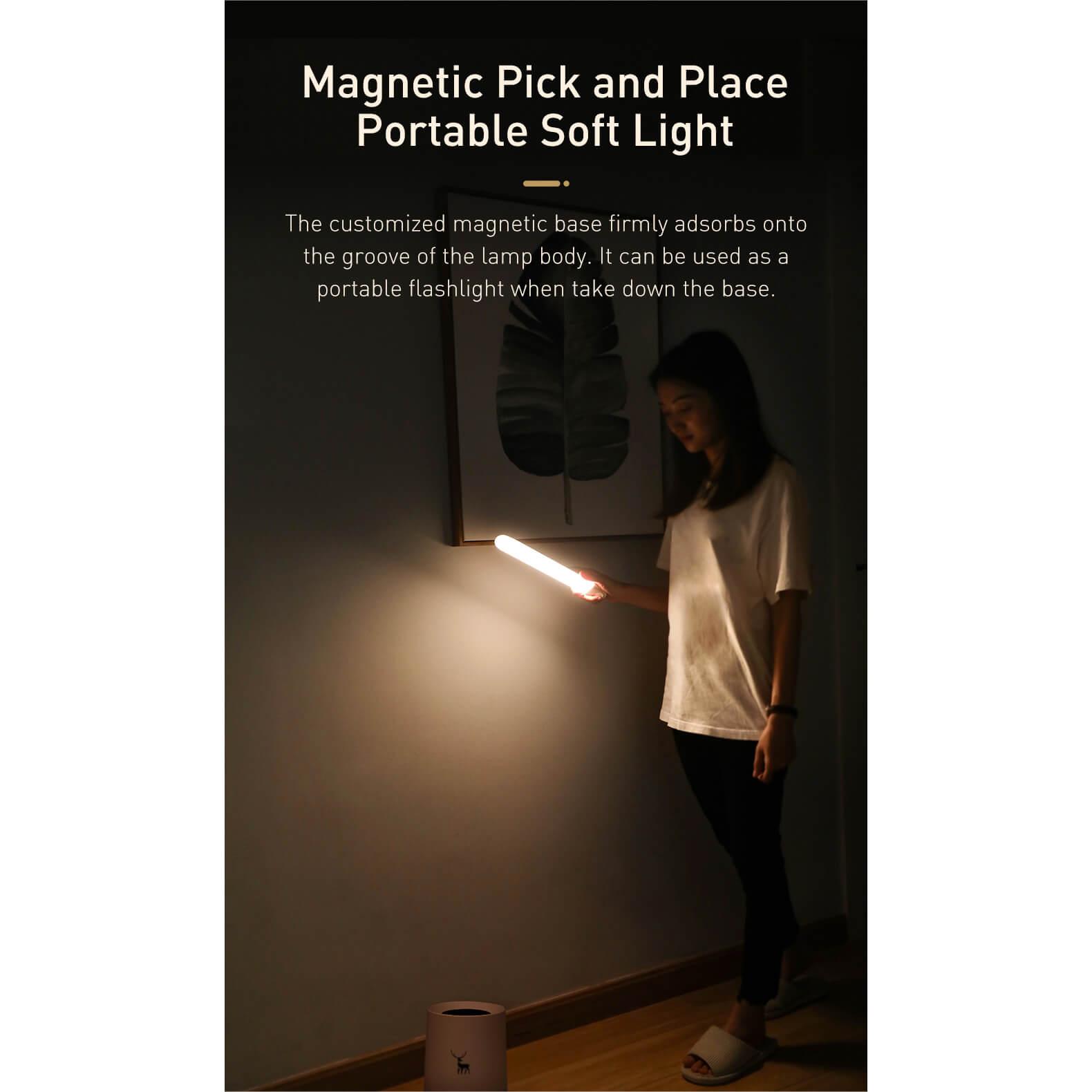Baseus Sunshine Series Human Body Induction Wardrobe Light — нощна LED лампа (бяла светлина) - 3
