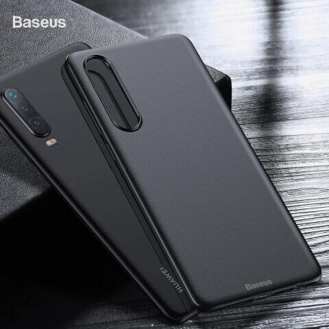 Baseus Wing case — тънък полипропиленов кейс (0.45 mm) за Huawei P30 (черен) - 2