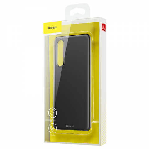 Baseus Wing case — тънък полипропиленов кейс (0.45 mm) за Huawei P30 (черен) - 3