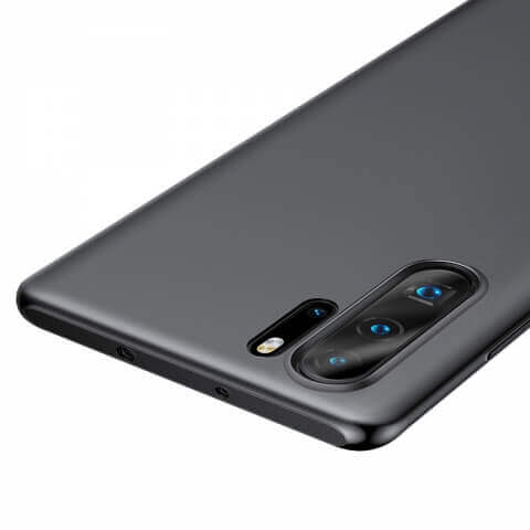 Baseus Wing case — тънък полипропиленов кейс (0.45 mm) за Huawei P30 Pro (сив) - 3