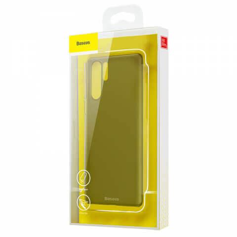 Baseus Wing case — тънък полипропиленов кейс (0.45 mm) за Huawei P30 Pro (сив) - 4