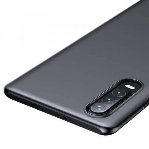 Baseus Wing case — тънък полипропиленов кейс (0.45 mm) за Huawei P30 (сив) - 4