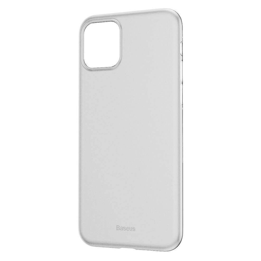 Baseus Wing case — тънък полипропиленов кейс (0.45 mm) за iPhone 11 Pro (бял) - 2