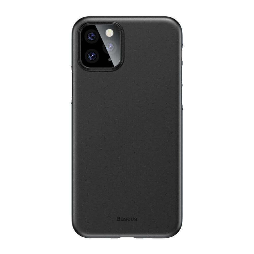 Baseus Wing case — тънък полипропиленов кейс (0.45 mm) за iPhone 11 Pro (черен) - 1