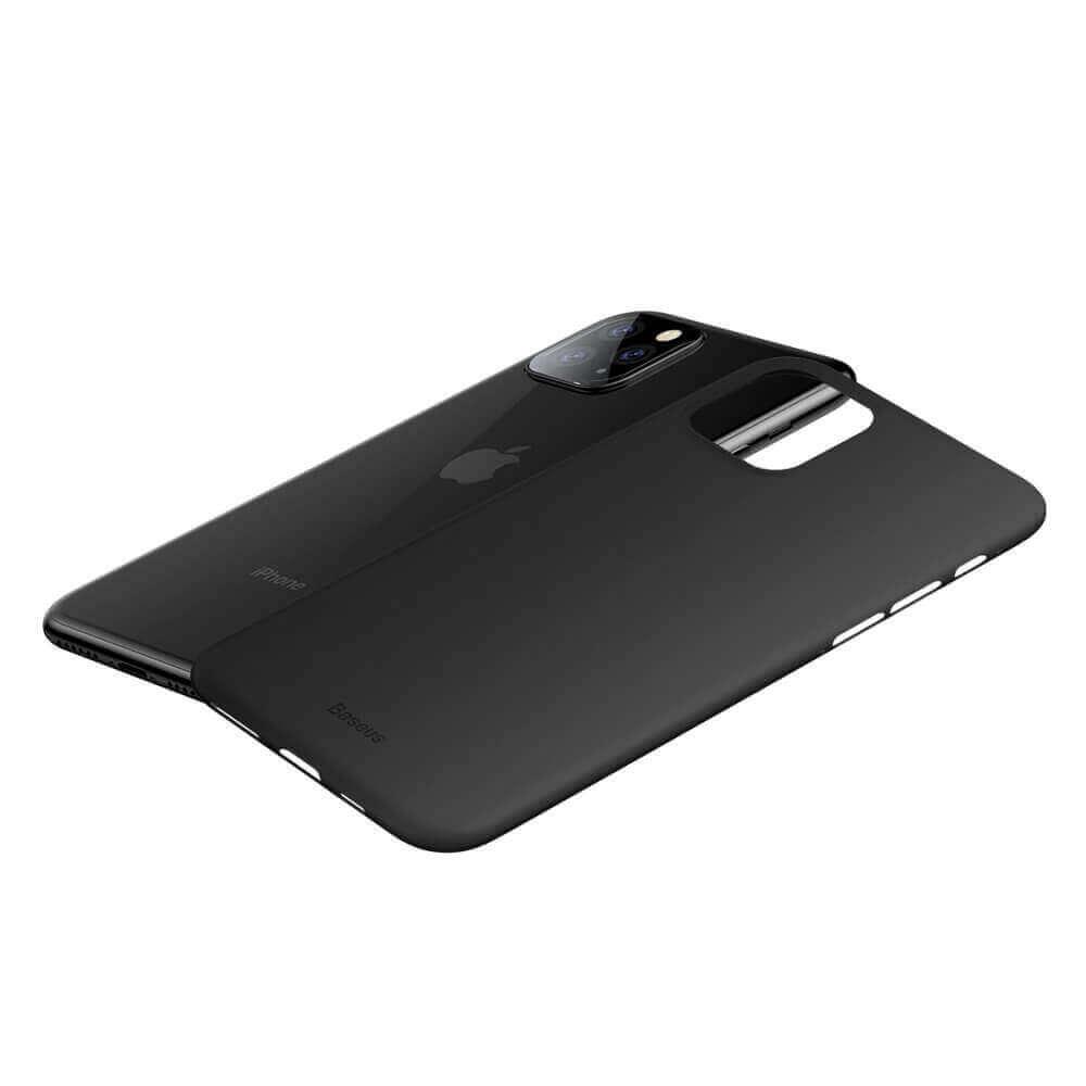 Baseus Wing case — тънък полипропиленов кейс (0.45 mm) за iPhone 11 Pro Max (черен) - 2