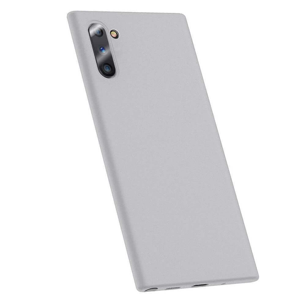 Baseus Wing case — тънък полипропиленов кейс (0.45 mm) за Samsung Galaxy Note 10 (бял) - 1