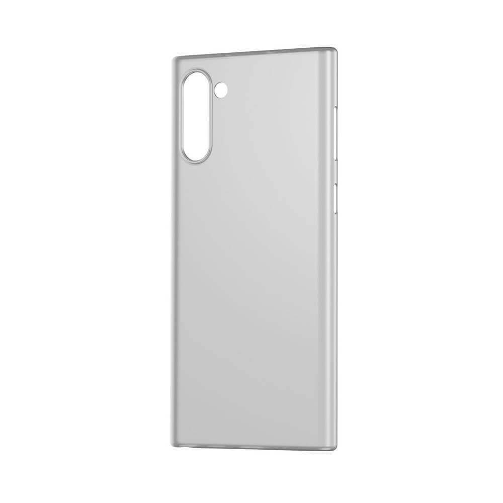 Baseus Wing case — тънък полипропиленов кейс (0.45 mm) за Samsung Galaxy Note 10 (бял) - 5