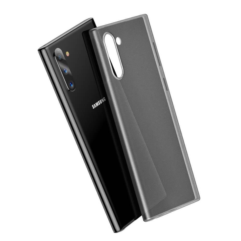 Baseus Wing case — тънък полипропиленов кейс (0.45 mm) за Samsung Galaxy Note 10 (черен) - 5