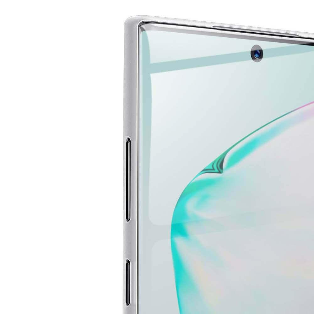 Baseus Wing case — тънък полипропиленов кейс (0.45 mm) за Samsung Galaxy Note 10 Plus (бял) - 2
