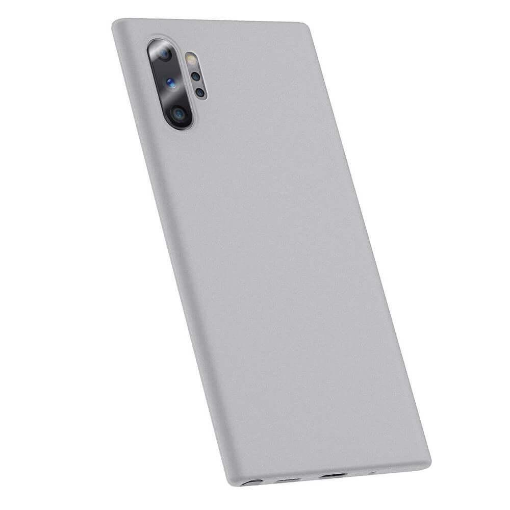 Baseus Wing case — тънък полипропиленов кейс (0.45 mm) за Samsung Galaxy Note 10 Plus (бял) - 1
