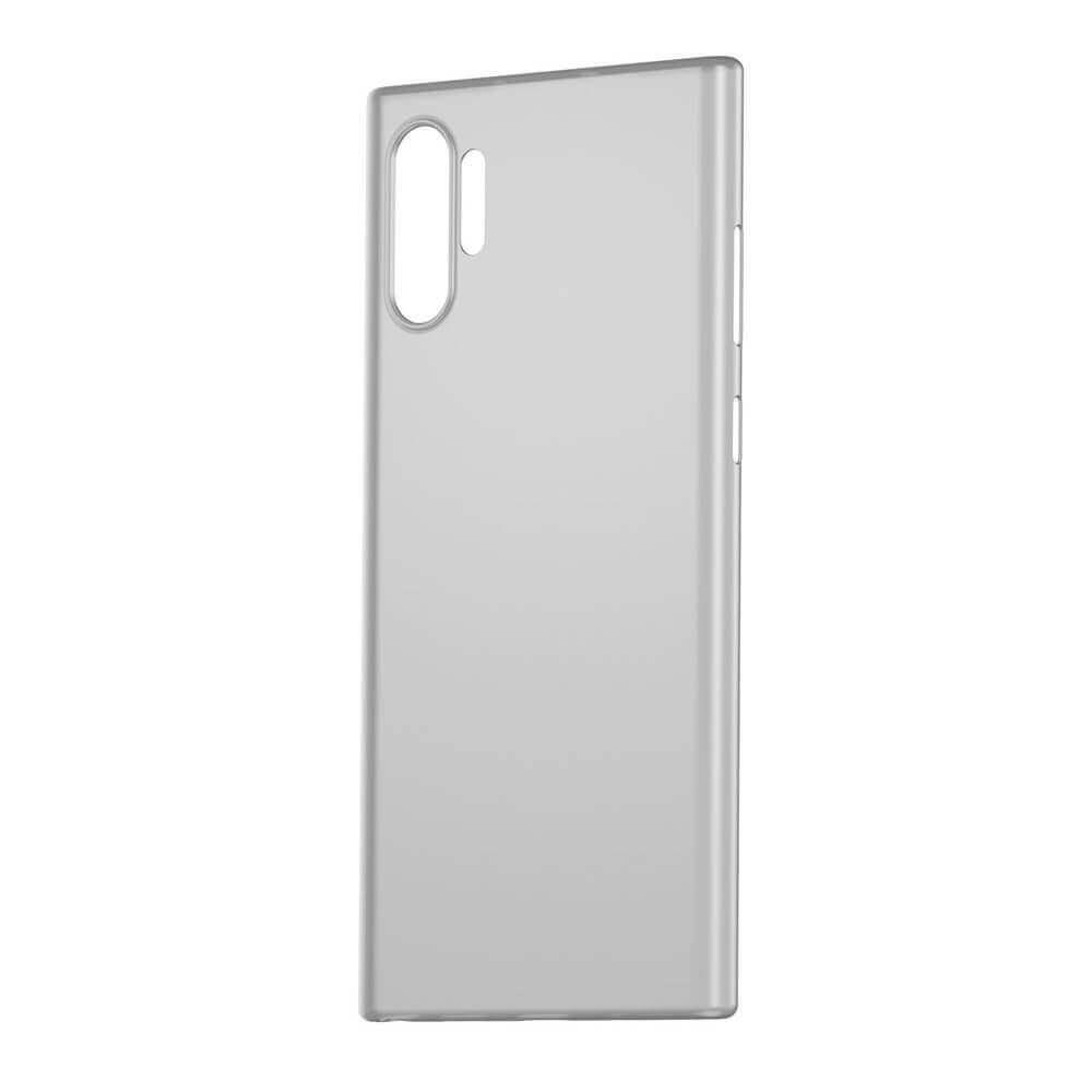 Baseus Wing case — тънък полипропиленов кейс (0.45 mm) за Samsung Galaxy Note 10 Plus (бял) - 3