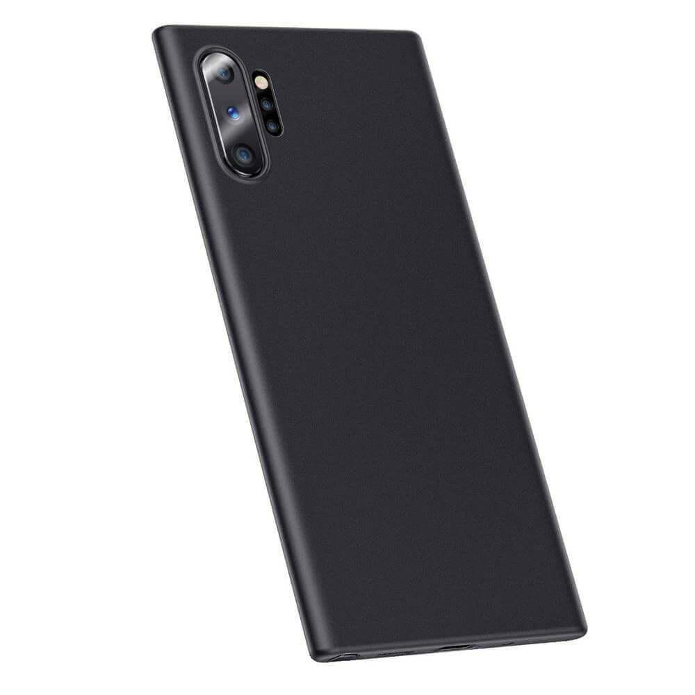 Baseus Wing case — тънък полипропиленов кейс (0.45 mm) за Samsung Galaxy Note 10 Plus (черен) - 1