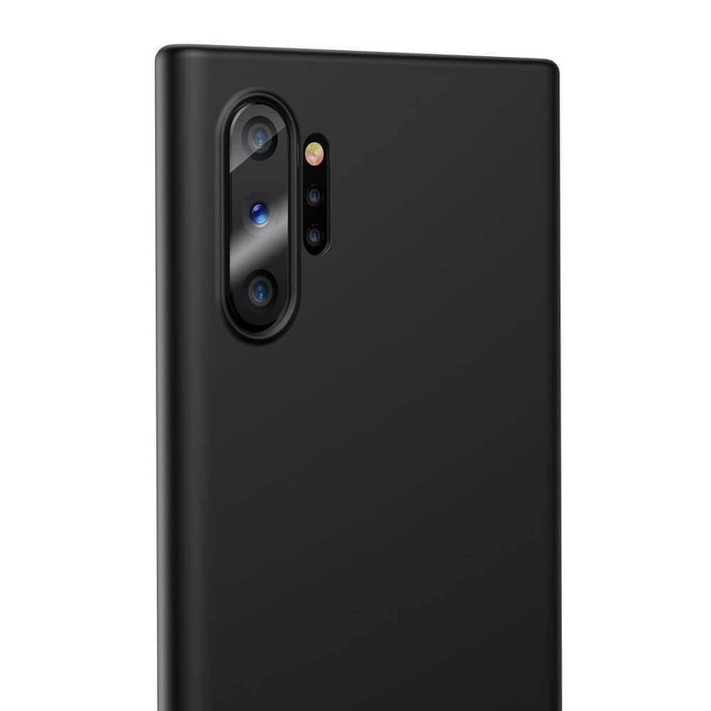 Baseus Wing case — тънък полипропиленов кейс (0.45 mm) за Samsung Galaxy Note 10 Plus (черен) - 3