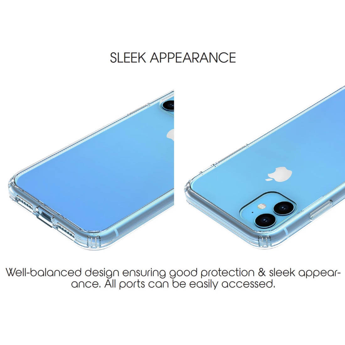 Bling My Thing Milky Way Pure Brilliance — хибриден удароустойчив кейс с кристали Cваровски за iPhone 11 Pro Max (прозрачен) - 2