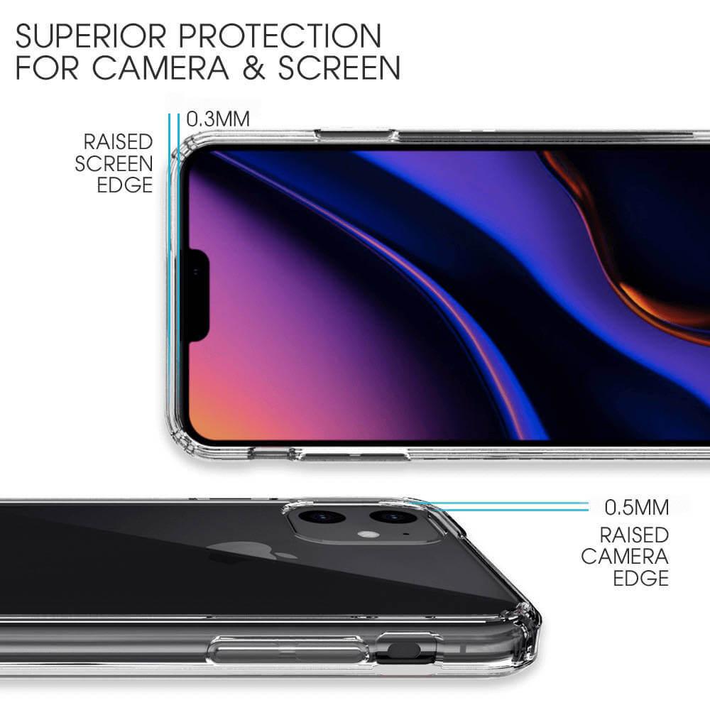 Bling My Thing Milky Way Pure Brilliance — хибриден удароустойчив кейс с кристали Cваровски за iPhone 11 Pro Max (прозрачен) - 3