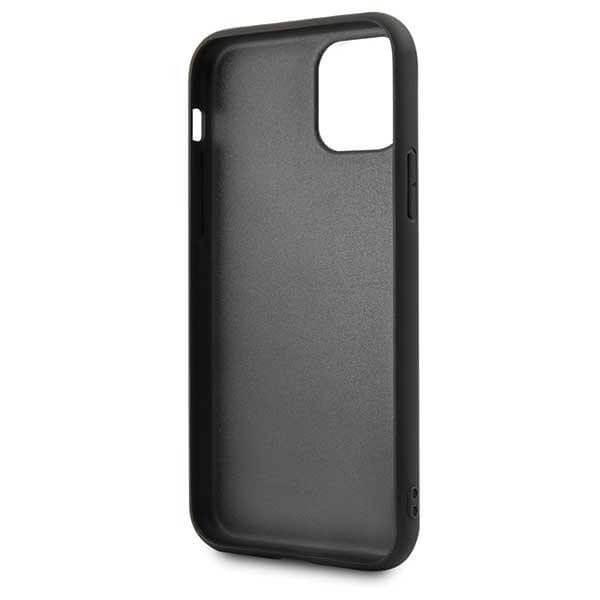 BMW M Collection Hard Case — кожен кейс за iPhone 11 Pro (черен) - 5