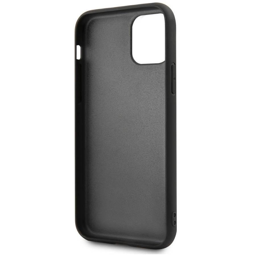 BMW Signature Genuine Leather Soft Case — кожен кейс (естествена кожа) за iPhone 11 Pro Max (черен) - 3